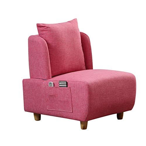 JPL Heces-Hogar Individual Moda Sofá Salón Esponja de Relleno para la Sala de Estar, Dormitorio,# 1,sin Heces de Almacenamiento