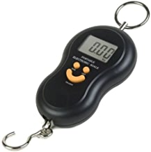 LEANER Digital Kitchen Weighing Scale, Luggage Hanging Weight Scale, 50kg (Multicolour)
