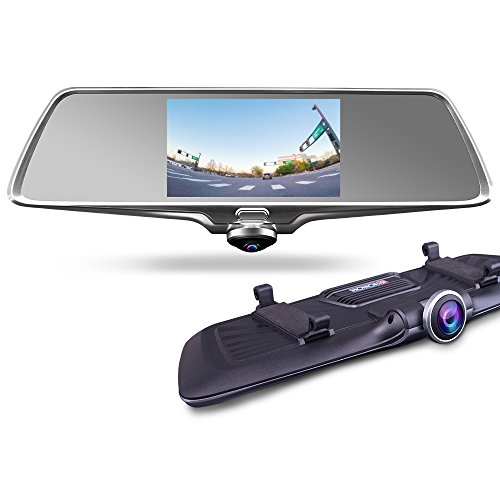 PROVISION ISR 360 Wide Angle Dual Mirror HD Touch Screen Back up Front...