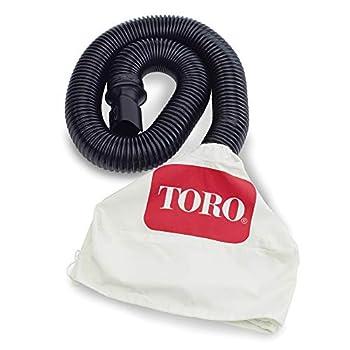 Toro 51502 Leaf Collection Blower Vac Kit White