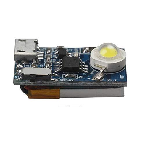 KINGDUO RC 5G 3W Noche Luces Estroboscópicas Incorporado En La Batería W/Magic Tie Directamente para dji De Chispa RC Drone