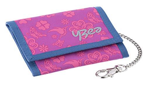 YZEA Wallet Geldbörse Kettenbörse Clover Pink