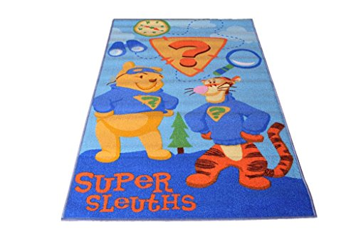 Carpet Prime Tapis pour Enfants Super Sleuths 170 x 100 cm