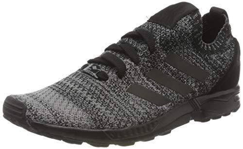 adidas Herren Originals ZX Flux Primeknit BZ05 Sneaker, Schwarz (Black Bz0562), 42 2/3 EU