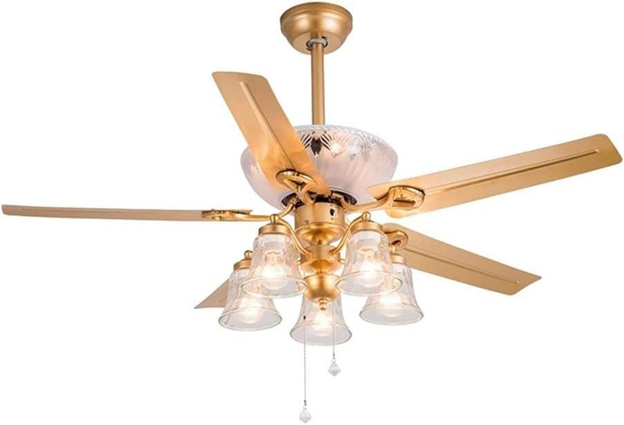 favorite ZHONGTAI Ceiling Fan with 52-inch Light Max 82% OFF Remote