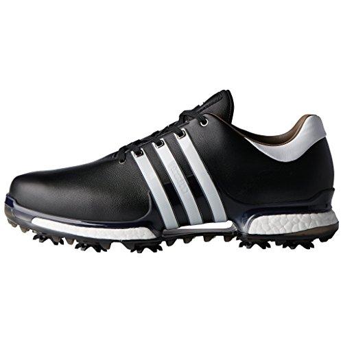 adidas Men's Tour 360 Boost 2.0 Golf Shoes, Black (Black Q44945), 7 UK