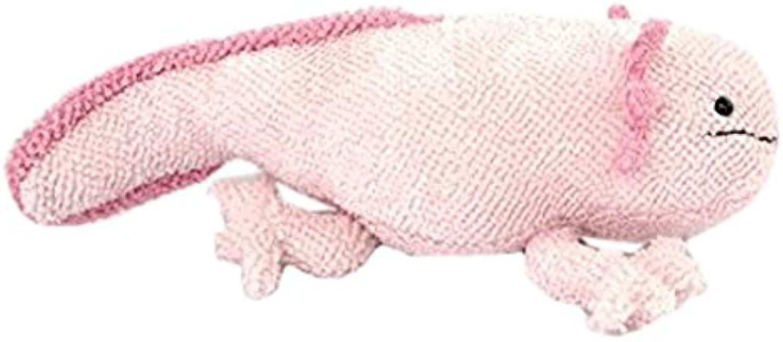 Sea Creature Axolotl Mexican Salamander Realistic Plush Doll (Pink)