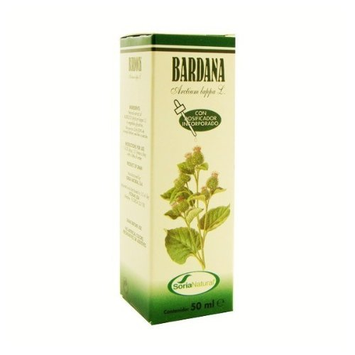 Soria Natural Extracto Bardana Glicolico - 50 mililitros