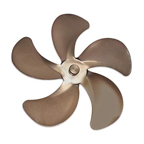 non_brand Ventilador de Estufa Aspas de Repuesto Accesorio Universal para Estufas de Leña - de Cobre, Individual