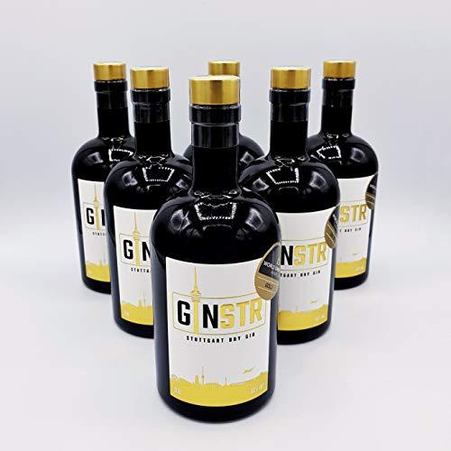 Sechs Flaschen GINSTR – Stuttgart Dry Gin (6 x 0,5l)