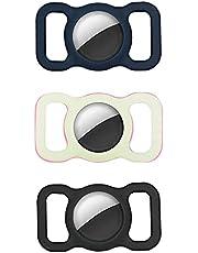 Duurzame en stijlvolle siliconen beschermhoes voor huisdieren - Apple Airtag Gps-zoeker Hond Kattenhalsbandlus, verstelbare anti-verloren locator, voor hondenhalsband Kinderen Ouderen Tassen (10)