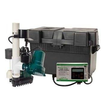 Zoeller Aquanot 508-0007 12 Volt backup sump pump WITH M98 pump
