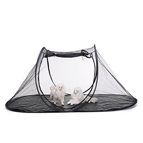 Jannyshop Katze Zelt Faltbare Katzenzelt mit Atmungsaktivem Netz Pet Tent