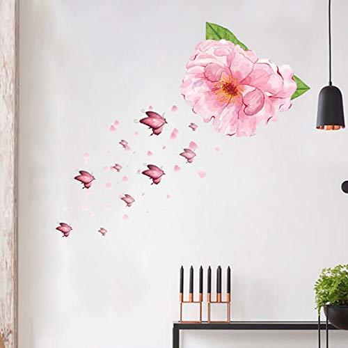 Vinilo de pared con diseño de mariposa, extraíble, para bebé, dormitorio, sala de estar, guardería, decoración del hogar