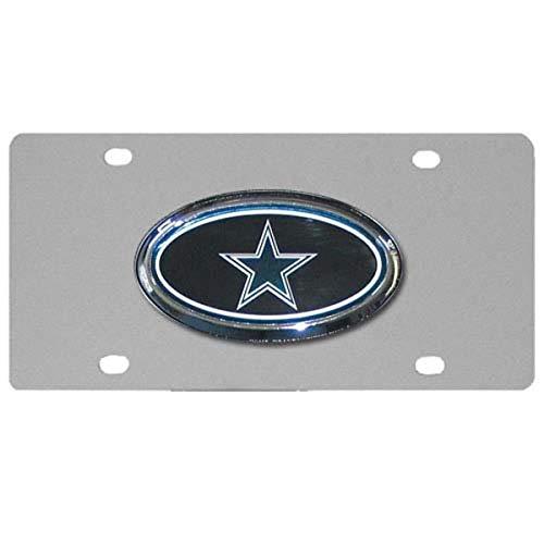 Siskiyou NFL Dallas Cowboys Stahl-Kennzeichen mit erhöhtem Logo