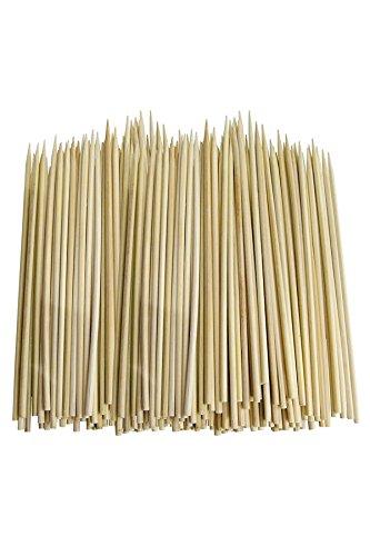 YOIL Bratpfanne aus Edelstahl, Bambus, Natur,