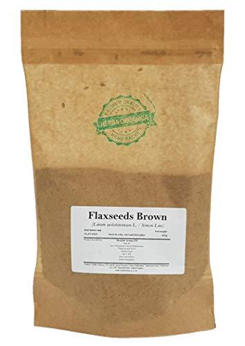 Herba Organica Vlas Zaden - Linum Usitatissimum L / Flaxseeds Brown (450g)
