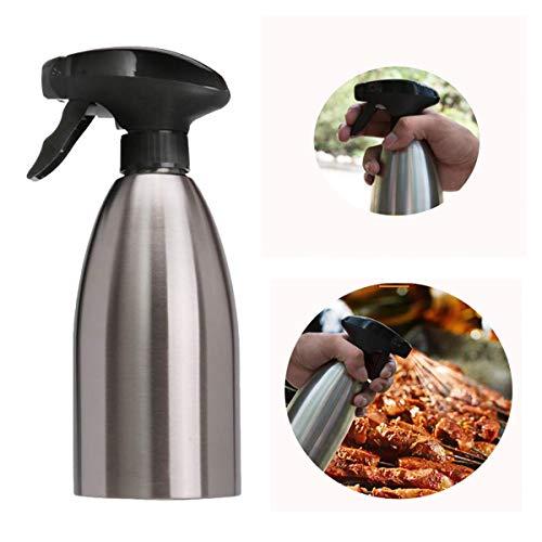 LaceDaisy Kochen Spray Flasche Olivenöl und Kochen Balsamico Essig Soja Sauce Wein Spray Premium 304 Edelstahl Grillen Öl Flasche für Kochen Salat Brot Backen Barbecue