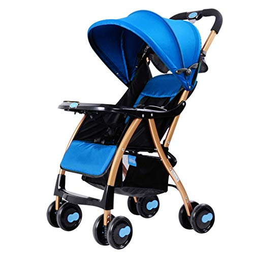 KHUY baby peuter Baby kinderwagen Carriage, compacte kinderwagen kinderwagens, zitten, leggen en licht vouwfiets