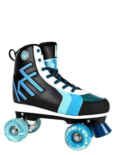 KRF The New Urban Concept Street Patines Paralelo 4 Ruedas, Azul, 40