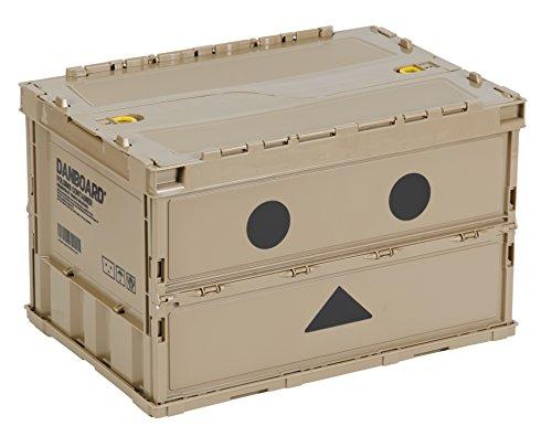 TRUSCO(トラスコ)『ダンボー薄型折りたたみコンテナ(TR-C50B-A-DNB)』