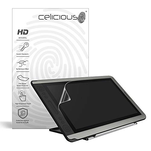 Celicious Vivid Film Protector Compatible with Huion Kamvas GT-156HD V2 [Pack of 2]