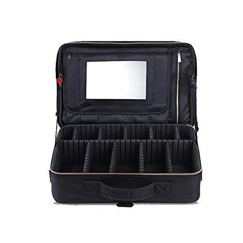 LXZXZ-Multicouche Professionnel Cosmétique Sac Grand Portable Cosmétique Cas De Beauté Cas Portable Boîte De Rangement