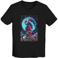 プリント 半袖シャツ メンズ T-Shirt Rwby ブレイク・ベラドンナ Tシャツ Black Xxl