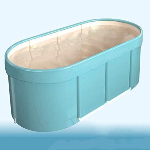 CHUTD Tragbare Badewanne, Spa-Badewanne, robuste Studentenbadewanne, Indoor-Hydrotherapie-Duschbadewanne, Whirlpool für Erwachsene und Kinder, B.