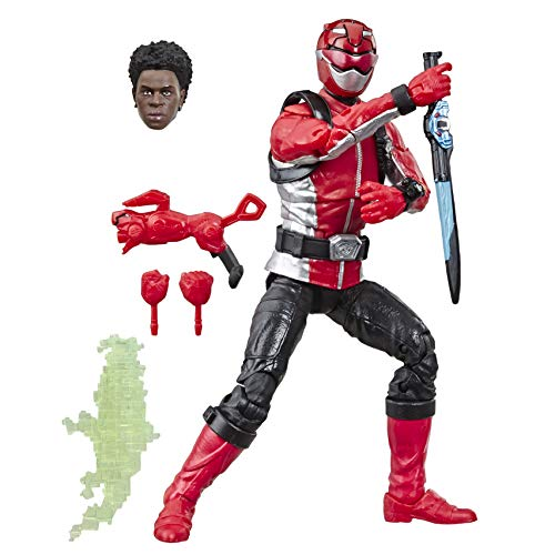 Power Rangers E5933ES0 Roter Lightning Collection Beast Morphers Ranger, Actionfigur