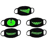 VORCOOL Unisex algodón Anti Polvo Cara Boca máscara Lavable Anti-Niebla máscara Filtro Earloop...