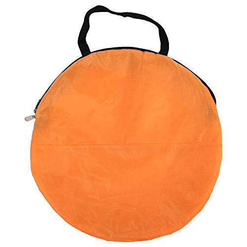 Aigend Paleta de Viento a Favor del Viento - PVC Plegable portátil Paleta de Viento a Favor del Viento Tabla emergente Kit de Vela para Kayak Accesorios para veleros(Naranja)