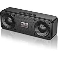 Blue Wore 100Ft Range 3D Stereo Hi-Fi Bass Portable Bluetooth 5.0 Speaker with 18H Playtime