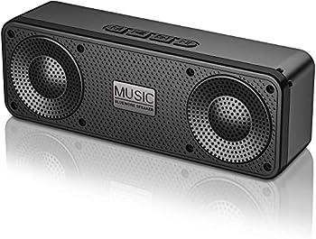 Blue Wore 100Ft Range 3D Stereo Hi-Fi Bass Portable Bluetooth 5.0 Speaker