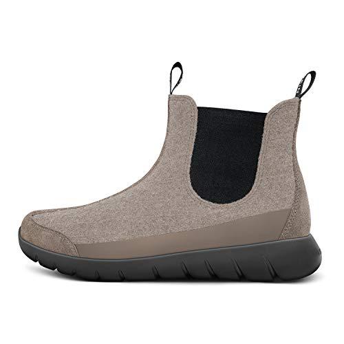 GIESSWEIN Merino Wool Boot - Atmungsaktive Chelsea-Boots für Damen aus 100% Merinowolle, Leichte Stiefelette, Kurzschaft-Stiefel, Warme Ankle Boots