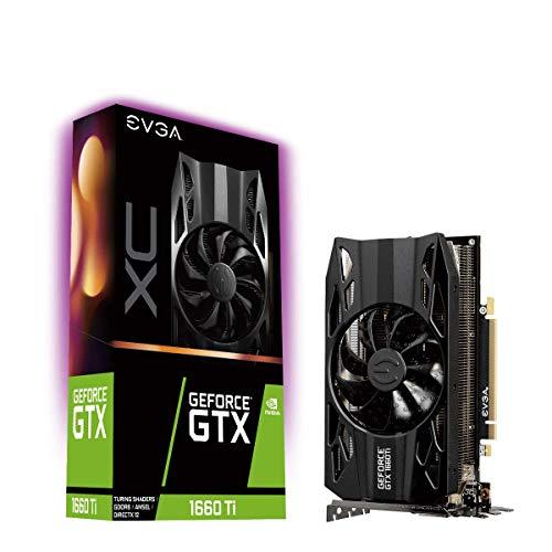 EVGA GeForce GTX 1660 Ti XC Gaming, 6GB GDDR6, HDB Lüfter, Grafikkarte 06G-P4-1263-KR