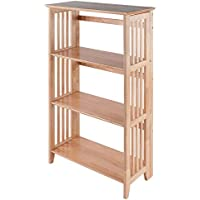 Winsome Wood Mission Shelving (Natural)