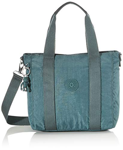 Kipling Damen Asseni Mini Tote Grün (Light Aloe)