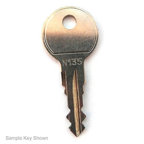 Thule Key for Roof Racks, Carriers, Crossbars (Codes N001-N200 or N001R-N200R) Better than OEM!
