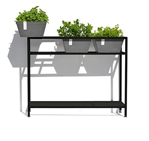Ecopots Berlin Plant & Herbtable pour balcon