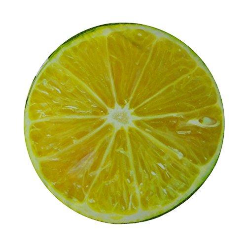 Limone cuscino FRUTTA rotondo 40 cm.