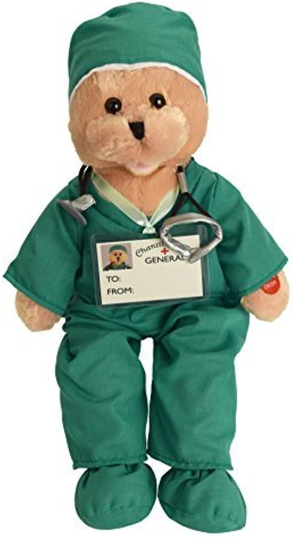 a la venta Chantilly Lane Scrubs Bear Bear Bear Singing I'll Be There Plush, 19, verde by Chantilly Lane  Web oficial
