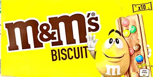 M&M´s Biscuit Biscuits knackige Kekse mit M&M 198g 10 Riegel