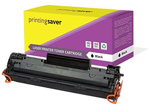 Printing Saver SCHWARZ Toner kompatibel für HP Laserjet Pro MFP M201dw M201n M202dw M202n MFP M125a M125nw M125rnw M125m M126a M126nw M127fn M127fp M127fw M128fn M128fp M128fw M225dn M225dw drucker