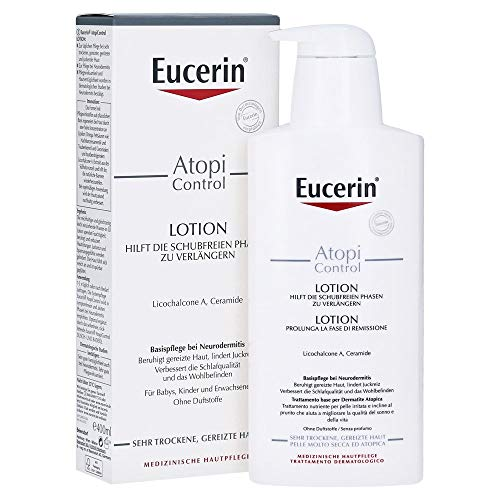 Eucerin AtopiControl Lotion, 400ml, 3er Pack (3 x 400ml)