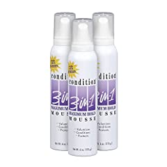 Volumizes, Conditions & Protects Your Hair Strong Hold All Day Long No Dulling, Flaking or Stickiness Great for All Type of Hair Do's or Up Do's Enriched with Pro-Vitamin B5 and PABA Free Sunscreen
