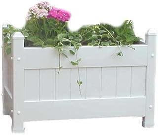 Duratrel 11124 White Large Planter Box