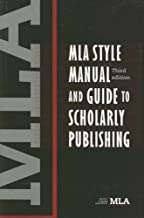 Best mla style manual and guide to scholarly publishing Reviews