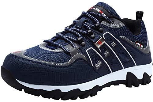 LARNMERN Men's Work Steel Toe Safety Shoes