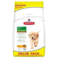 Chicken crackers for large breed puppies (> 25 kg) HILL'S Science Plan Canine Puppy Healthy Grow Large Breed is formulated for the good growth of large breed puppies. These croquettes contain clinically proven antioxidants for a healthy immune system...